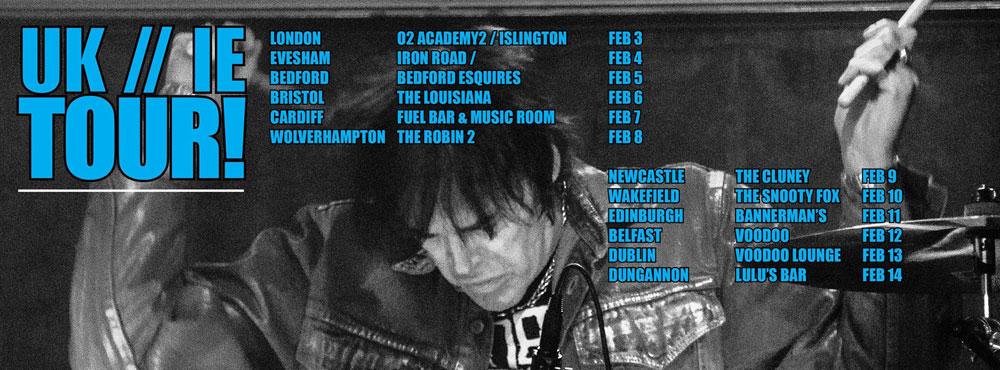 Richie Ramone live il 31 dicembre 2015