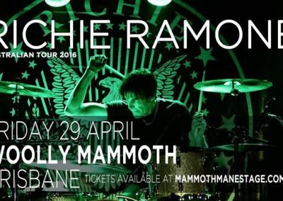 Richie Ramone a Brisbane