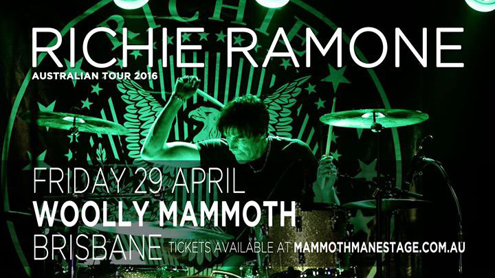 Cj Ramone Tour Australia