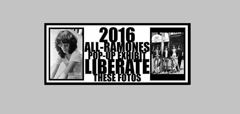 George DuBose 2016 Ramones photo exhibith