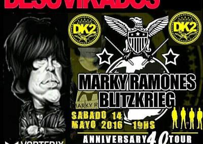Marky Ramone a Buenos Aires