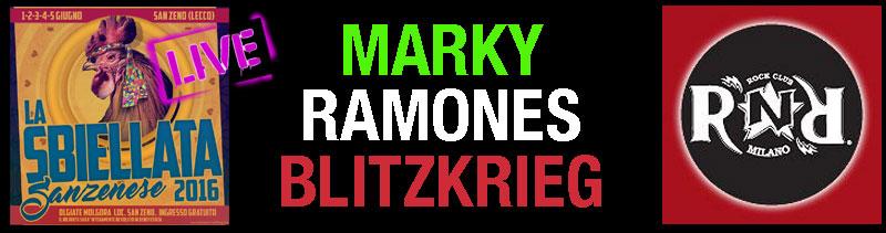 Banner Marky Ramone in Italia