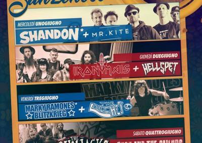 Marky Ramone live il 3 giugno Olgiate Molgora