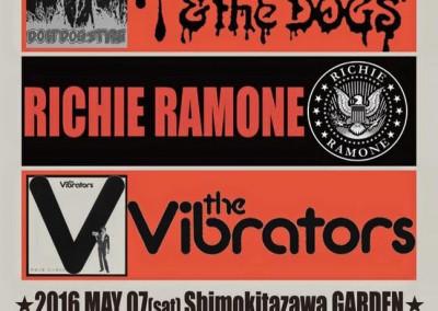 Poster Richie Ramone a Tokio