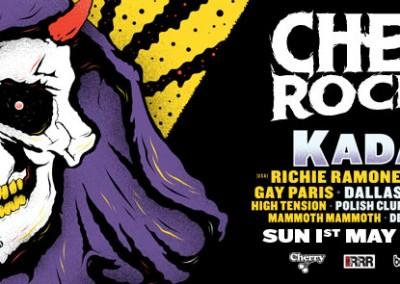 Richie Ramone Cherry Rock 2016 banner