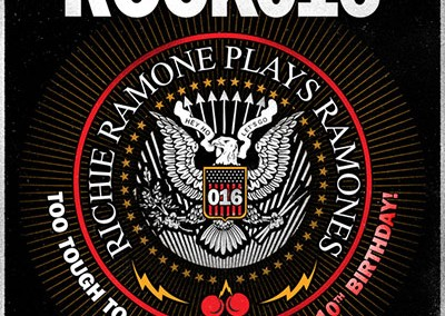 Richie Ramone Cherry Rock 2016 poster