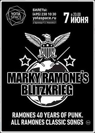 Marky Ramone a Mosca