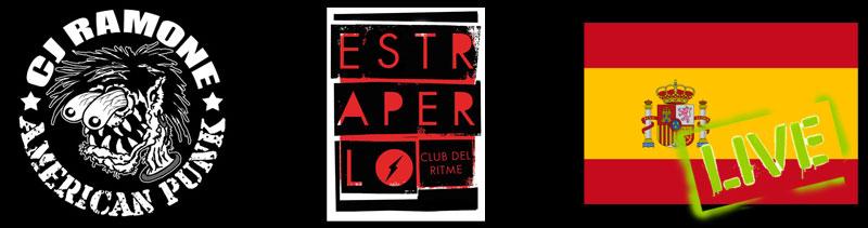 Oggi parte da Barcellona l'european tour di CJ Ramone