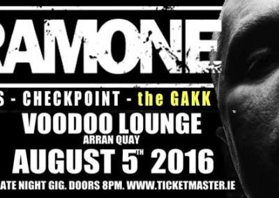 CJ Ramone live a Dublino