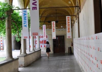 corridoio secondo spazio verde