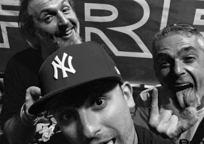 Maury Bert, Marco Zuanelli e Adam Melotti