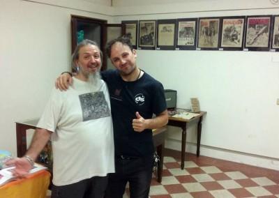 Marco Zuanelli e Maury Bert