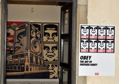 Ingresso mostra Shepard Fairey Obey