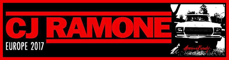 Cj Ramone in Italia a luglio + novità sul nuovo album