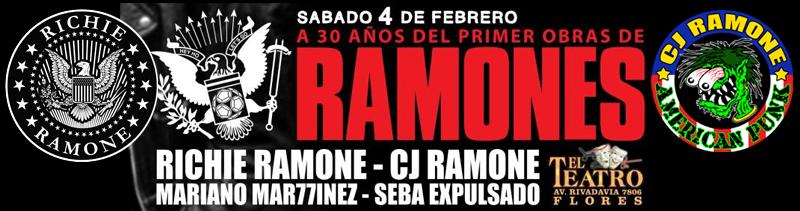 Cj e Richie Ramone finalmente sul palco insieme!!!!