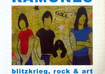 Ramones – blitzkrieg, rock & art