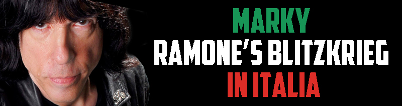 Marky Ramone's Blitzkrieg live in Italia!