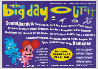 21/1/1994 Bemdhal – Festival Big Day Out – Melbourne