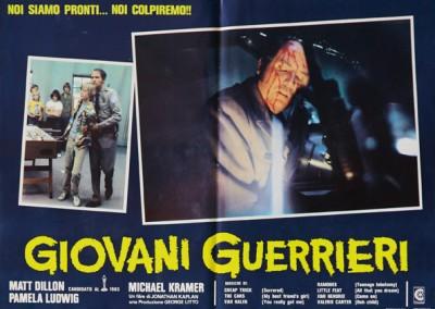 1983 Giovani Guerrieri – Fotobusta 2