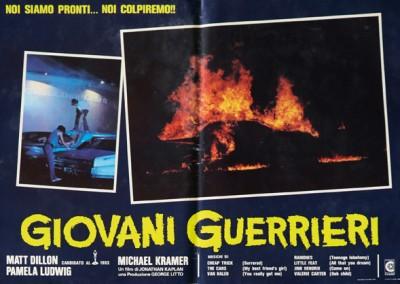 1983 Giovani Guerrieri – Fotobusta 6