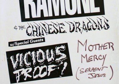 1992 Dee Dee Ramone Chinese Dragons