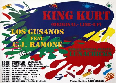 1998 Los Gusanos Germania tour