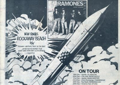 1977 Record Mirror – Uk – Rocket To Russia + tour uk