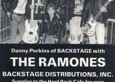 1991 Goldmine – Usa – Servizio Backstage