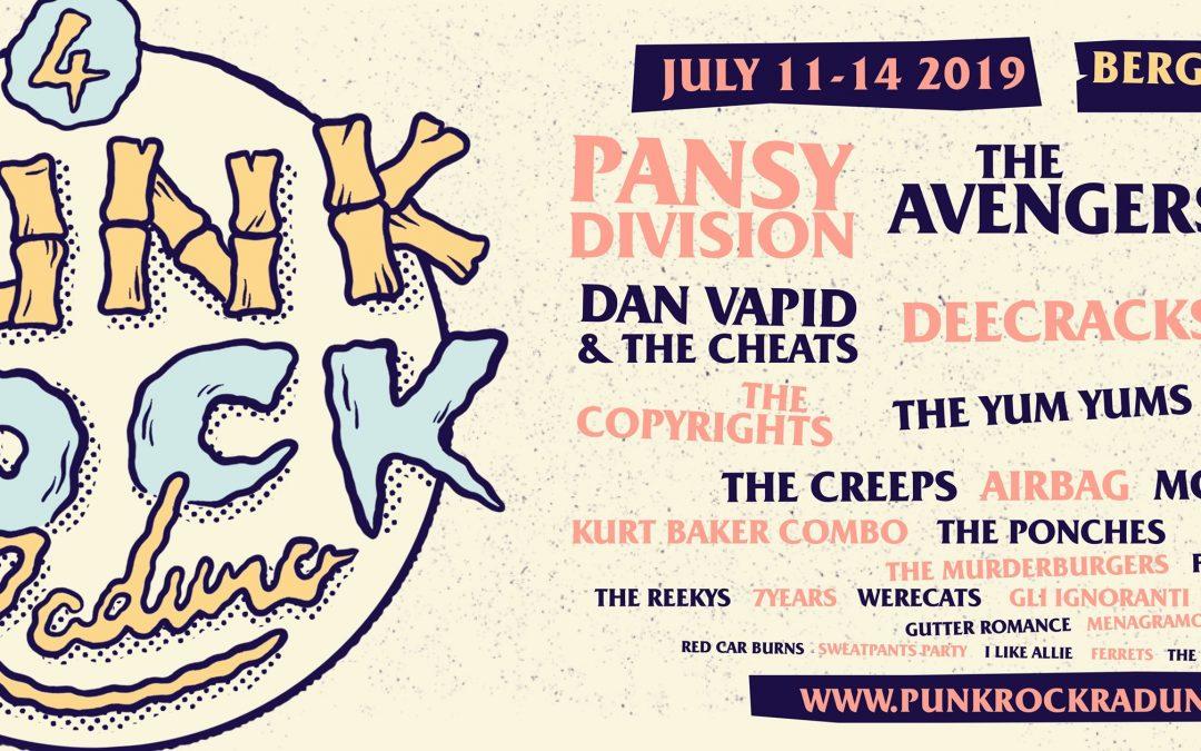 Bergamo 11-14 luglio: Punk Rock Raduno 4!